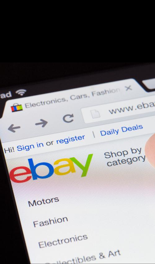 Ebay Dashboard